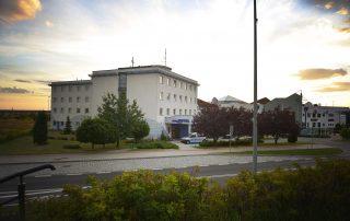 Aquahotel - budynek